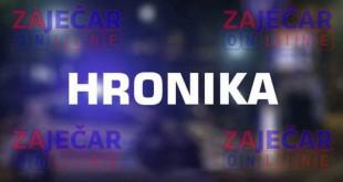 Teška saobraćajna nesreća na putu Zaječar Boljevac – poginuo motociklista