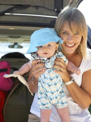 beba u kolima