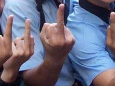 srednji prst