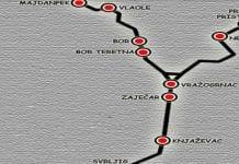 mapa pruge u timočkoj krajini