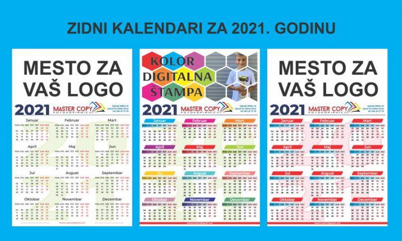 zidni kalendari